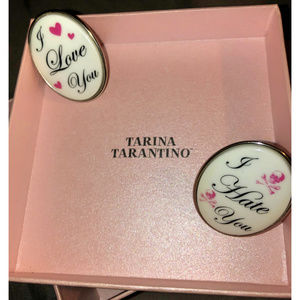 "TARINA TARANTINO ""I LOVE YOU"" ""I HATE YOU"" SET"